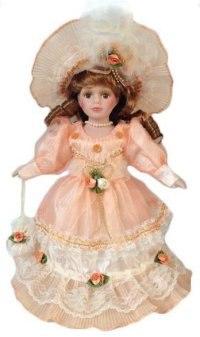 "Кукла фарфоровая ""кери"", 30 см, Angel Collection"