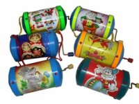 """Музыкальная игрушка """"шарманка"""", Русский стиль"""
