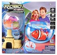 """Набор """"роборыбка с 2 кораллами, замком и аквариумом"""", Robofish"""