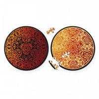 """Круглые пазлы  """"double. огонь"""" (диаметр 18,5 см), Curiosi"""