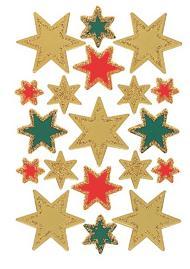 """Наклейки """"новый год. разноцветные звезды"""", Herma"""