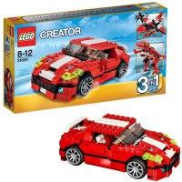 """Конструктор lego """"красный мощный автомобиль"""", LEGO (Лего)"""