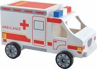 """Машинка """"скорая помощь"""", Мир деревянных игрушек (МДИ)"""