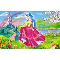 """Пазл """"волшебный мир. принцесса и цветы"""", 15 элементов, Канц-Эксмо (Listoff, Unnika Land)"""