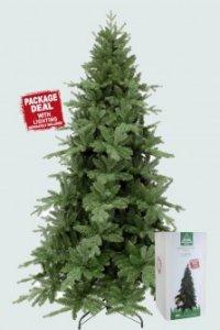 """Ель искусственная """"сосна ноттингемская"""", 155 см (с гирляндой на 370 белых led ламп), Triumph Tree"""