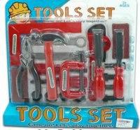 Набор детских инструментов, красный, Shantou Gepai