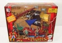 """Набор """"пираты"""", корабль, крокодил, Shantou Gepai"""