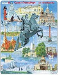 "Пазл ""санкт-петербург"", 60 деталей, Larsen (игрушки)"