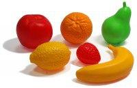 """Набор """"фрукты"""" (6 предметов), Нордпласт"""