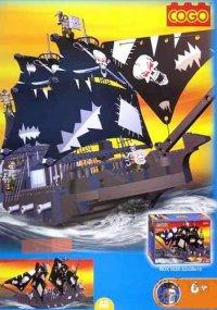 """Конструктор """"пираты"""" (634 детали), COGO"""