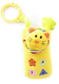 "Развивающая игрушка ""телефон"", желтый, Amico"