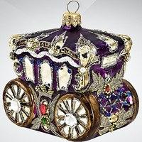 """Украшение коллекционное """"карета"""", фиолетовое, Silverado"""