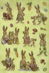 "Наклейки ""пикник у зайцев"", Herma"