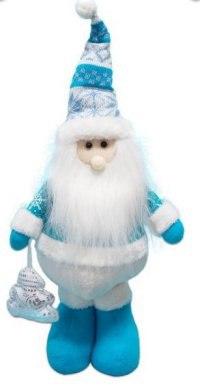 "Кукла ""дед мороз"", 35 см (голубой), Новогодняя сказка"