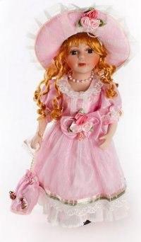 "Кукла фарфоровая ""несси"" (16 дюймов), Angel Collection"