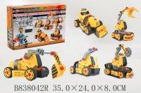 """Конструктор """"технопарк. строительная техника"""" (3 модели), TONGDE"""