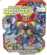"""Трансформер робот """"super power"""", Shantou Gepai"""