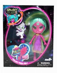 """Кукла """"буни. galaxy elves"""" с питомцем (кукла с зелеными волосами), Shiner Toys"""