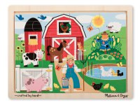 """Мои первые пазлы """" ферма"""", Melissa & Doug"""
