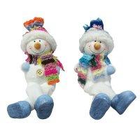 "Новогодняя фигурка ""снеговичок с ножками"", арт. е94579, Snowmen"