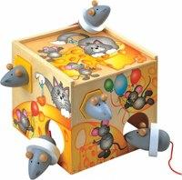 """Сортировщик """"мышки в сыре"""", Мир деревянных игрушек (МДИ)"""