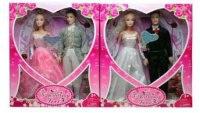 "Куклы abbie ""свадьба"", 2 штуки, 29 см, Shantou Gepai"