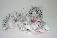 """Мягкая игрушка """"снежный барс мама"""" (70 см), Hansa (Ханса)"""