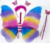 """Крылья """"бабочка"""", 42 см, Новогодняя сказка"""
