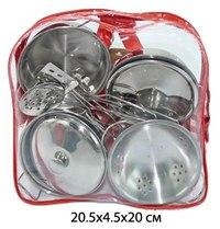 Набор металлической посуды в рюкзаке, 11 предметов, Shantou Gepai
