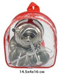 Набор металлической посуды в рюкзаке, 7 предметов, Shantou Gepai