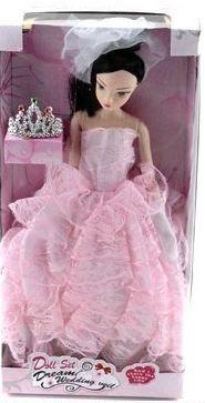 """Кукла шарнирная """"jenny"""" (в розовом платье), Shantou Gepai"""