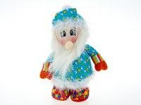 "Игрушка мягкая, набивная ""санта клаус"", 18x12x30 см, Monte Christmas"