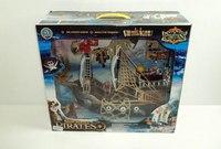 """Набор """"остров сокровищ"""", корабль, пираты, сундук, Shantou Gepai"""