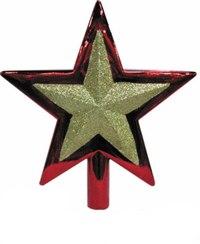 "Новогодний наконечник на елку ""звезда"" (25 см), Snowmen"