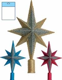 """Новогодний наконечник на елку """"рождественская звезда"""" (29 см), Snowmen"""