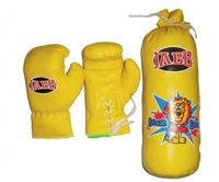 Набор боксерский, детский, желтый, Jabb