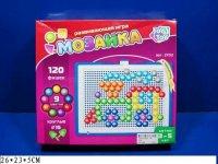 Мозаика круглая, 120 фишек, Play Smart (Joy Toy)