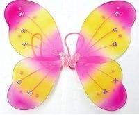 """Крылья """"бабочка"""", 36 см, Новогодняя сказка"""