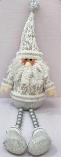 """Кукла """"дед мороз"""", 55 см (серебристая), Новогодняя сказка"""