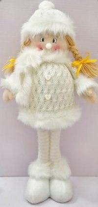 """Кукла """"снежинка"""", 50 см (белая), Новогодняя сказка"""