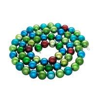 """Новогодняя цепь """"шары"""", арт. ек0181, Snowmen"""