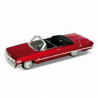 """Модель винтажной машины """"chevrolet impala 1963"""", Welly"""
