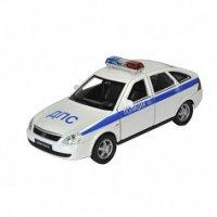 """Модель машины lada priora """"полиция"""", Welly"""