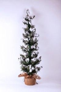 "Ель искусственная заснеженная ""хрустальная"", 90 см, Crystal Trees"