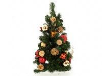 """Украшение новогоднее """"елочка"""", красные шары, 30x15x60 см, Monte Christmas"""