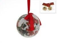 """Украшение подвесное """"новогодний цветок"""", диаметр 7 см, Monte Christmas"""