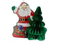 """Украшение подвесное """"санта с ёлкой"""", 25x12x27 см, Monte Christmas"""