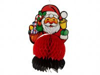 """Украшение подвесное """"санта с ёлкой"""", 18x15x28 см, Monte Christmas"""