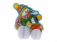 """Украшение подвесное """"снеговики бумажные"""", 30x10x38 см, Monte Christmas"""