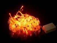 """Гирлянда электрическая """"занавес"""" 136x35 см, разноцветная, Monte Christmas"""